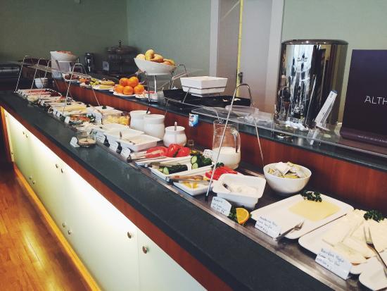 BEST WESTERN Hotel Bremen City: Brekkie buffet