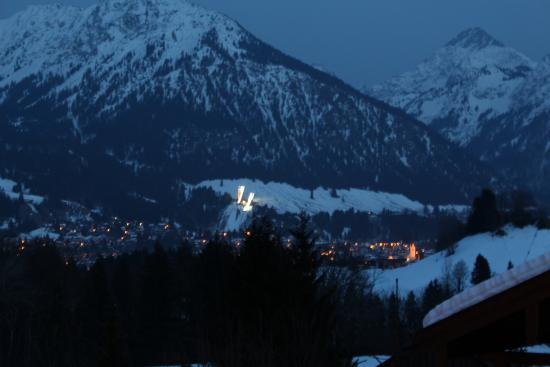 Hotel Bergruh: Blick auf die Oberstdorfer Schanze