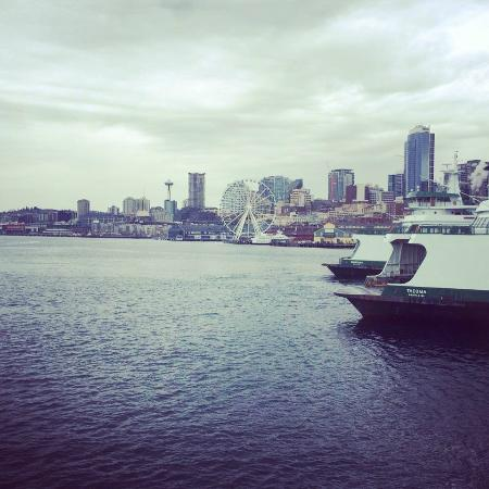 Washington State Ferries: Ferry leaving Seattle for Bremerton