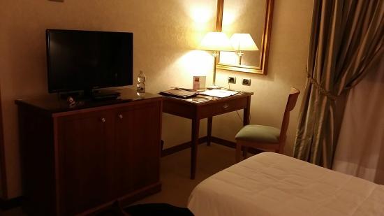 Hotel Excelsior Magenta: Vista della stanza.