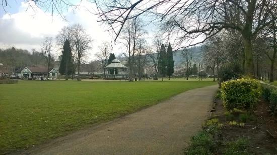 Hall Leys Park: View across the Park