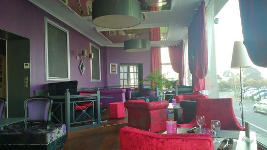 La Villa Andry : salle de restaurant