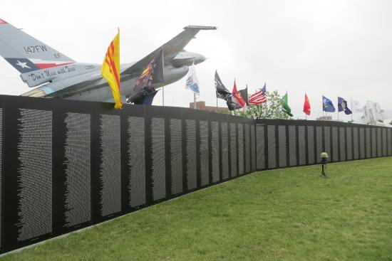 Texas Military Forces Museum - Vietnam Wall Memorial