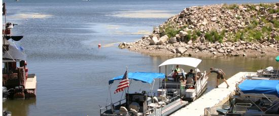 Panguitch Lake, UT: ROCKY POINT BOAT DOCK MARINA