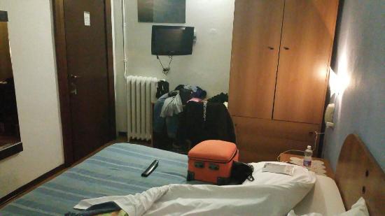 Hotel Tirreno: Interno della Camera 6.