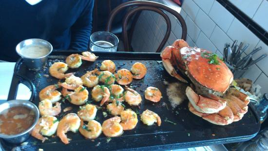 Crab House: Iron Skillet-Roasted Crab and Double Shrimp