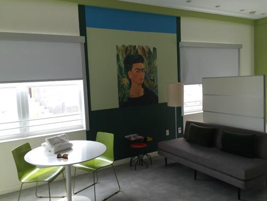 The Franklin Hotel: Frida Kahlo room
