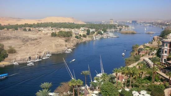 Sofitel Legend Old Cataract Aswan: View from the suite
