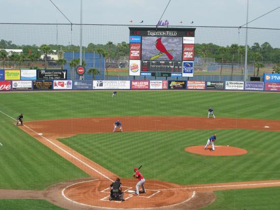 Tradition Field: Cardinals vs. Mets