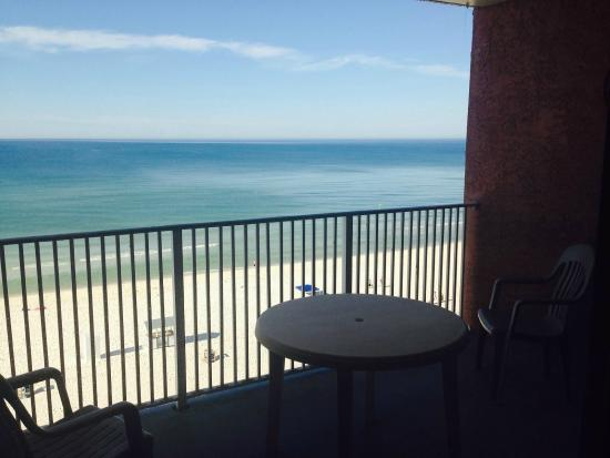 Osprey on the Gulf : Beach View Balcony for Every Upper Level Room
