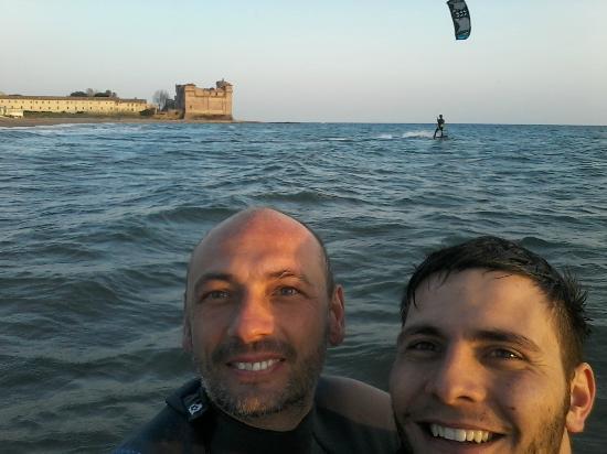 Amici e tanto kitesurf