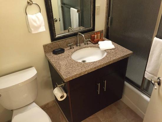 Winners Circle Resort: First Bathroom