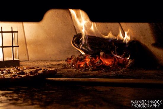 Pi Pizzeria: The Wood burning oven