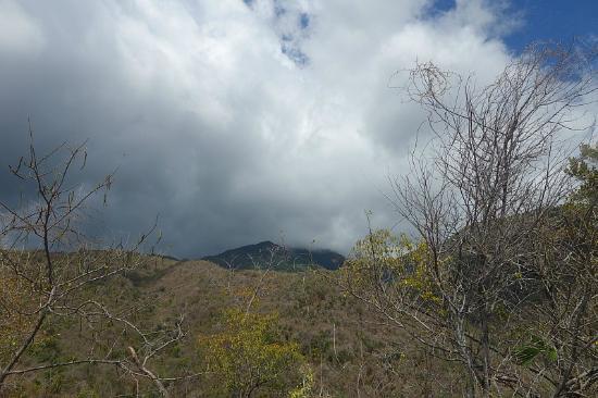 Sierra Maestra: The peak in the distance