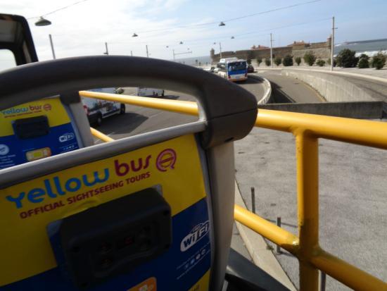 Yellow Bus Tours Oporto: free wi-fi