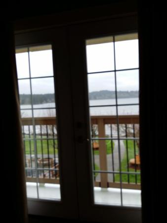 Best Western Plus Silverdale Beach Hotel: view from 2nd floor suite