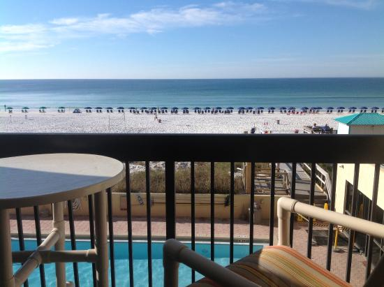 Sundestin Beach Resort: View from deck of #305
