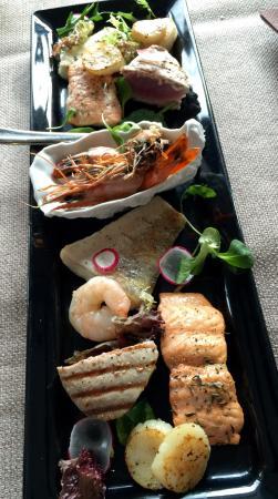Restauracja Przystan: Półmisek ryb dla dwóch osób ��