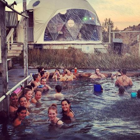 Soaking and music - Picture of Norris Hot Springs - TripAdvisor