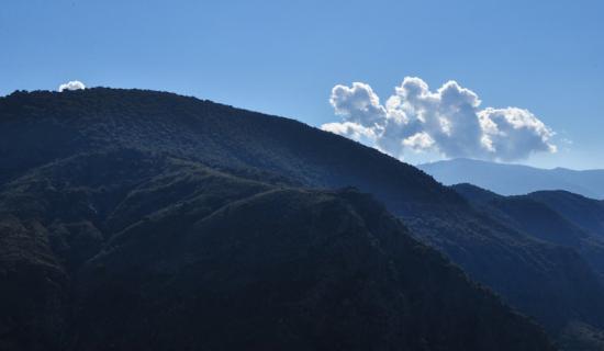 La Taha, Spain: ever changing sky