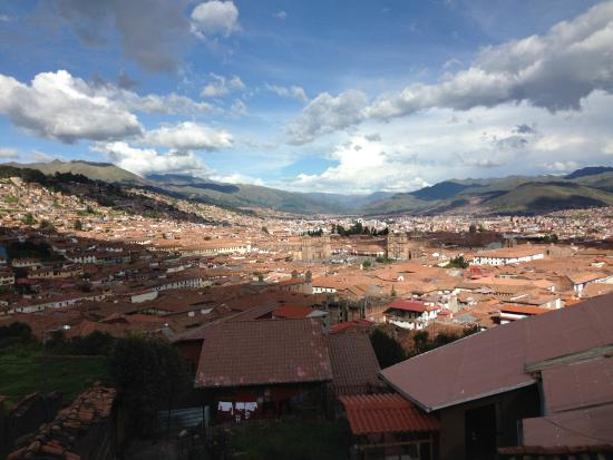 Hostal Qorikilla : Vista a cusco