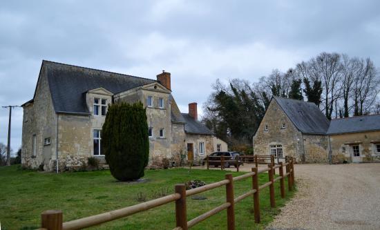 Le Vieil-Baugé, France : Un cadre champêtre très agréable