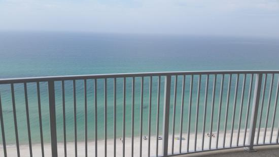 Ocean Villa Condos: My view from the balcony in the master bedroom