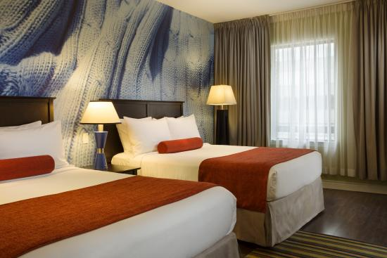 The Metcalfe Hotel: Travelling with your family - choose a room with two queen beds