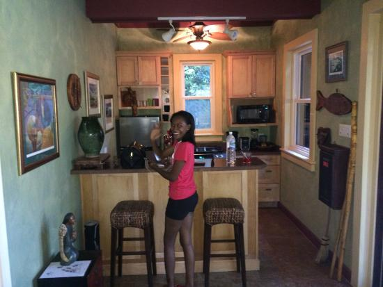 Kitchen Picture Of Hermosa Cove Jamaica S Villa Hotel Ocho