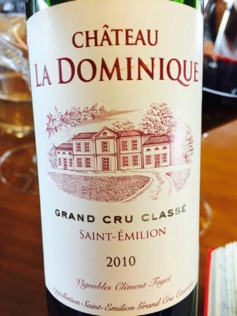 Le Vin De L Endroit Château La Dominique Picture Of La