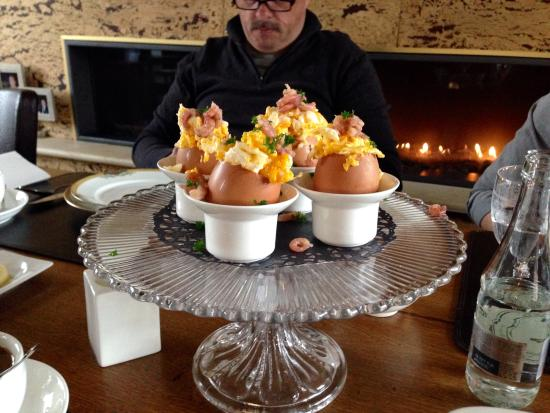 De Rentmeestershoeve : Eitjes ontbijt