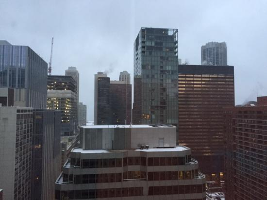 Courtyard by Marriott Chicago Downtown/Magnificent Mile: View to the east from 24th floor