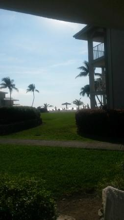 Sunset Cove: View from condo 111