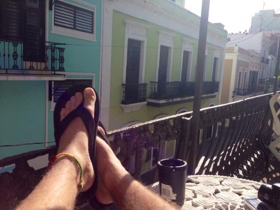Fortaleza Guest House: Chillin