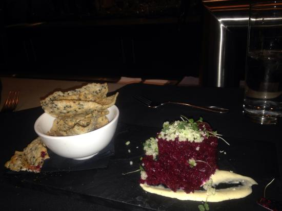 Downtownfood: Beet tartar