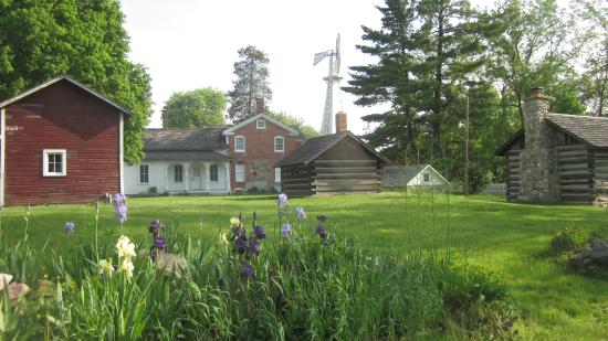 Grass Lake, MI: Waterloo Farm Museum buildings, Summer tours begin June 5,  to Aug 31, Fri., Sat,, Sun. 1pm-5pm