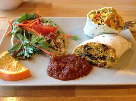 Good Mood Food Cafe: Breakfast burrito