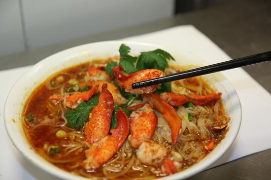 Lobster B Soup satay lobster n...