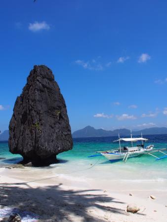 El Nido Resorts Miniloc Island: Plage d'Entalula