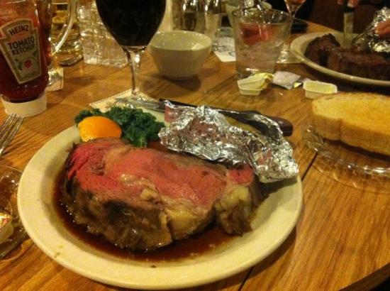 Mode's Bum Steer : This is my small 12 oz Prime Rib.  I think it weighed more.