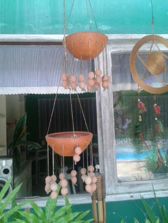 Raja Pousada Canto do Mar: frente para a sala de cafe