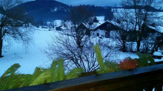 Hotel Muehlenhof: widok z balkonu