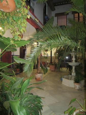 Casa de los Azulejos : The patio
