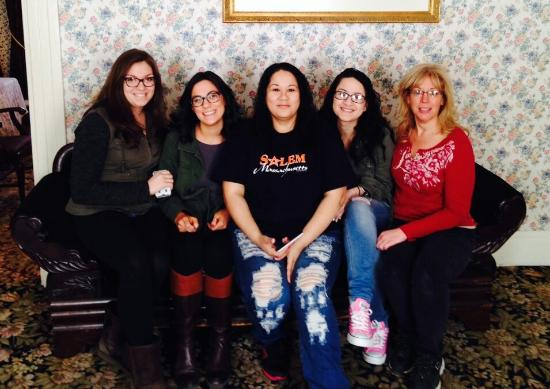 """Lizzie Borden House: On """"the couch"""" :)"""