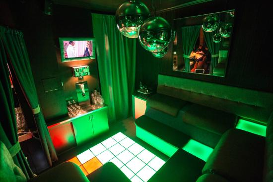 AIR CONDITIONED The Freon Room With Its LED Touch Activated Dancefloor