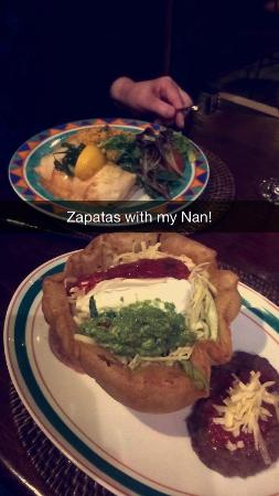 Zapata's Mexican Restaurant: Dinner!