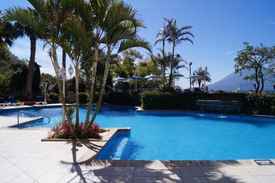 Hotel La Riviera de Atitlan: Area de Piscina