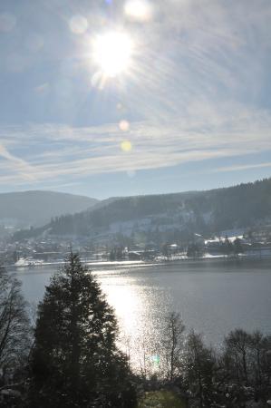Le Manoir au Lac : Le lac de Gerardmer