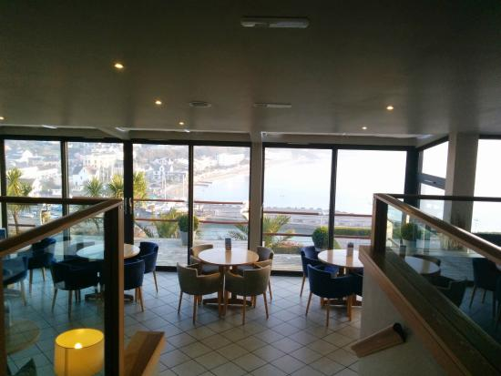 St Brides Spa Hotel : View of more dining with fantastic view
