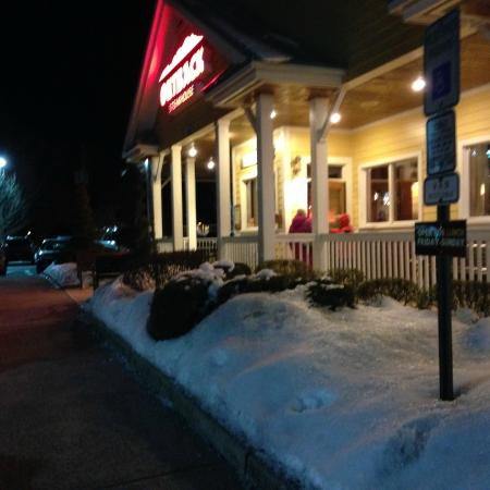 Outback Steakhouse : Coming in from the cold
